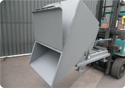 Tipping Skip with Lid Image
